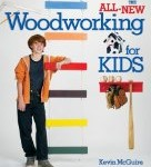 All New Woodworking for Kids Book Cover