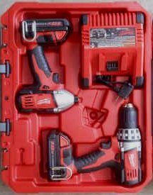 Milwaukee Impact Driver and Drill Set