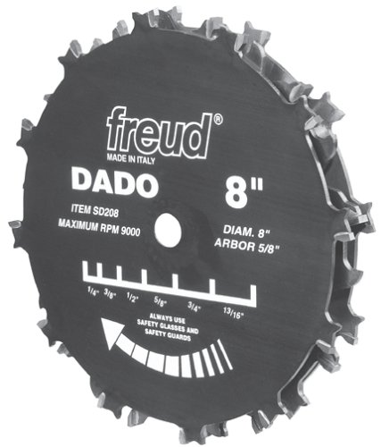 Frued Stack Dado Set