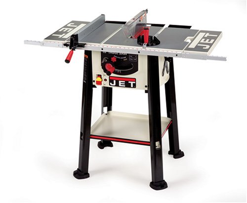 Review Jet Benchtop Table Saw 10 With Fixed Stand Storage Shelf