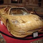 Wooden Ferrari
