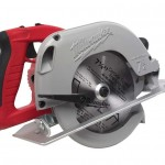 Milwaukee 6390-21 Tilt-Lok Circular Saw Side