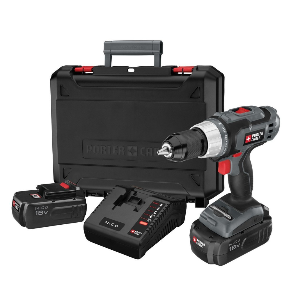PORTER-CABLE PC180DK-2 Drill Driver Kit 1